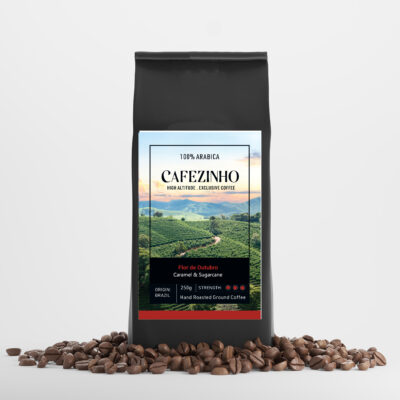 Flor de outubro ground coffee